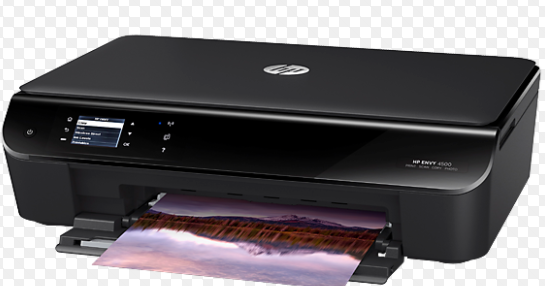 how to scan a document using hp envy 4000