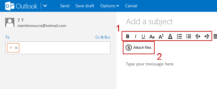 how do you attach a document to an email