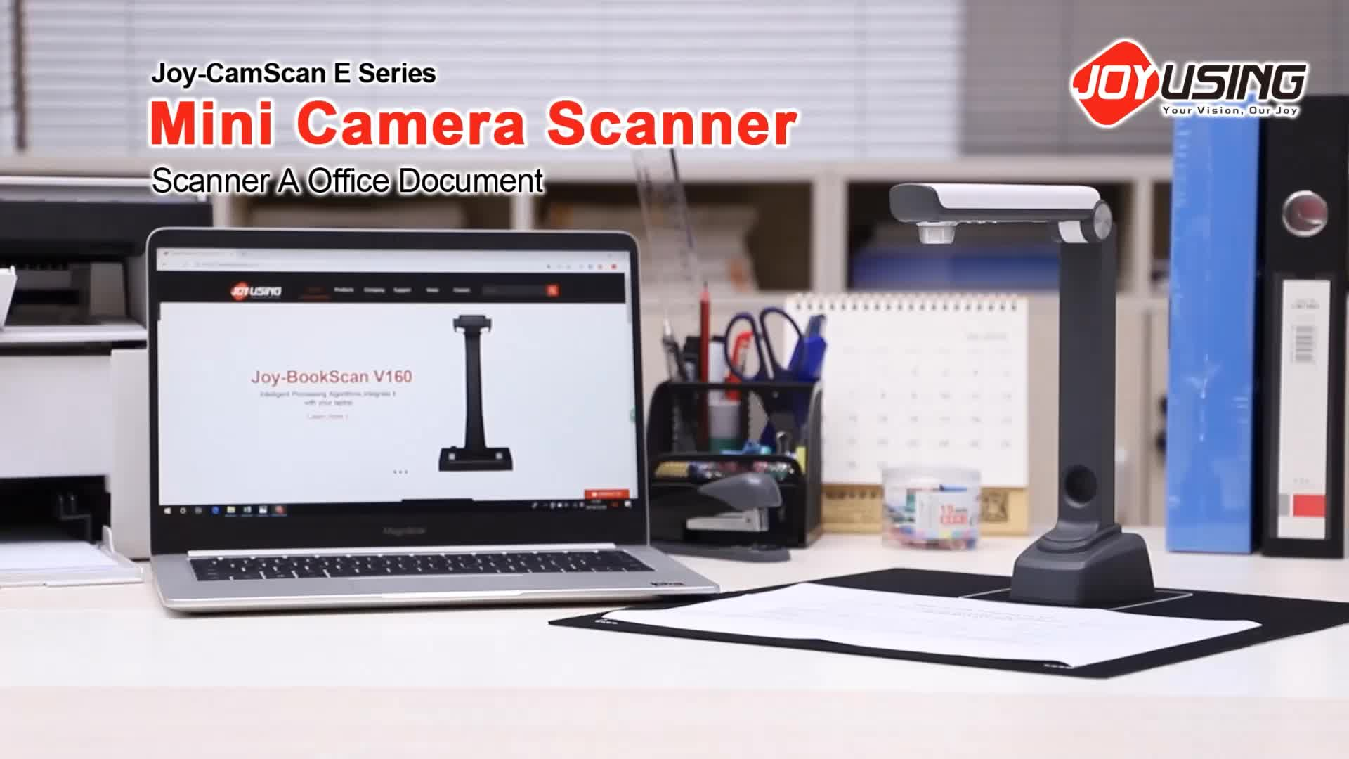 how to video scan a document using video camera