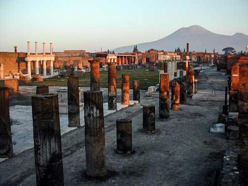 documentation of the site of pompeii