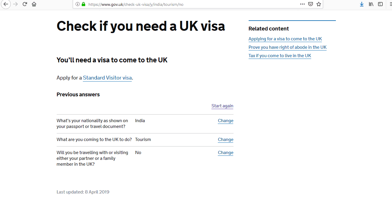 what documentation you need to apply for uk visa
