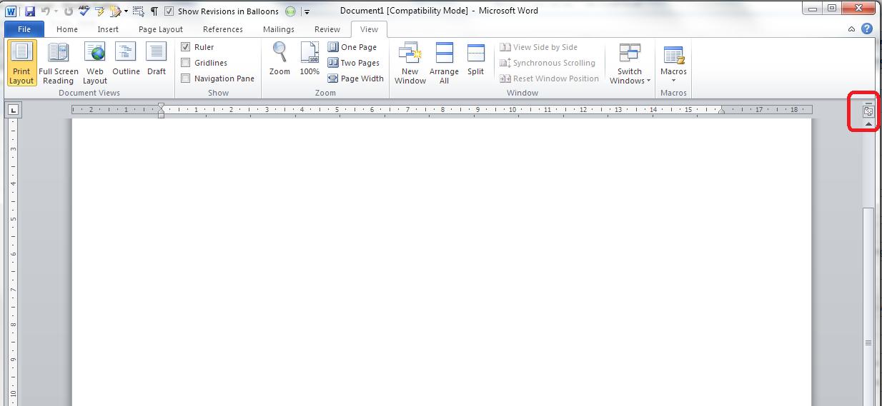 erase line in word document 2013