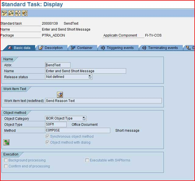 document control in sap fico