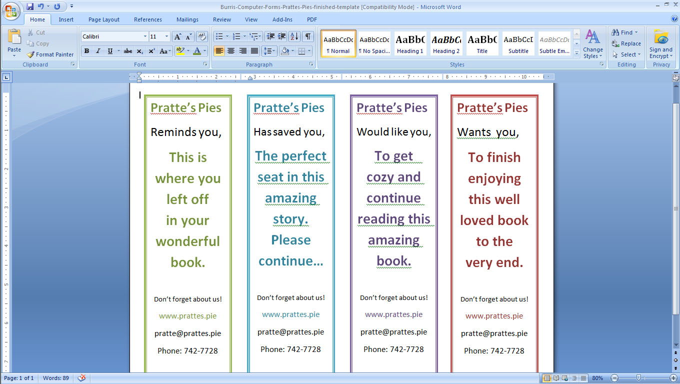 make word document double sided