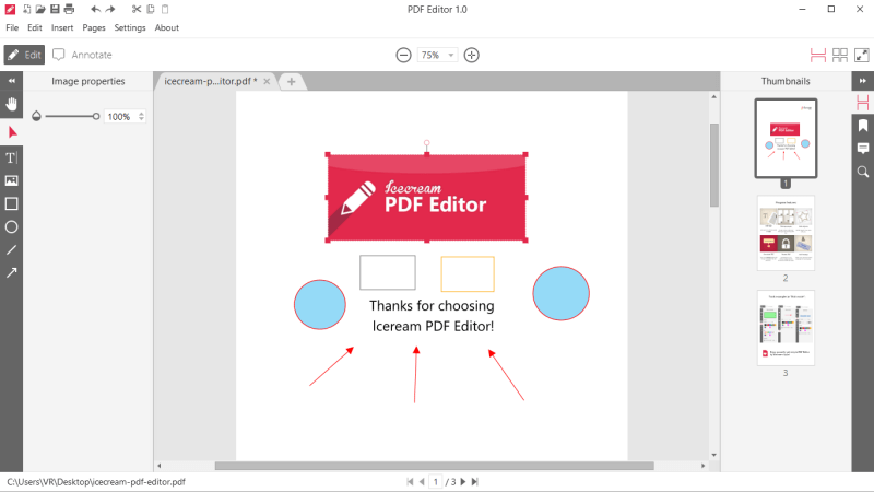 how to edit text in pdf document
