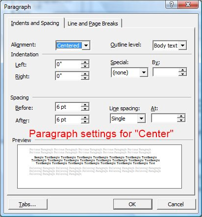 copy style from word document to another