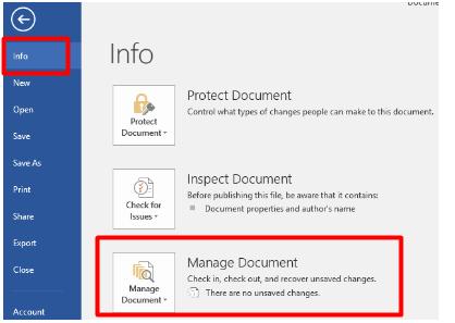 retrieve unsaved word document mac