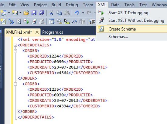 create xml document c xdocument