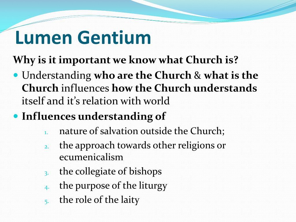 name of the vatican ii document lumen gentium