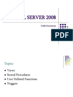 sql server 2008 documentation
