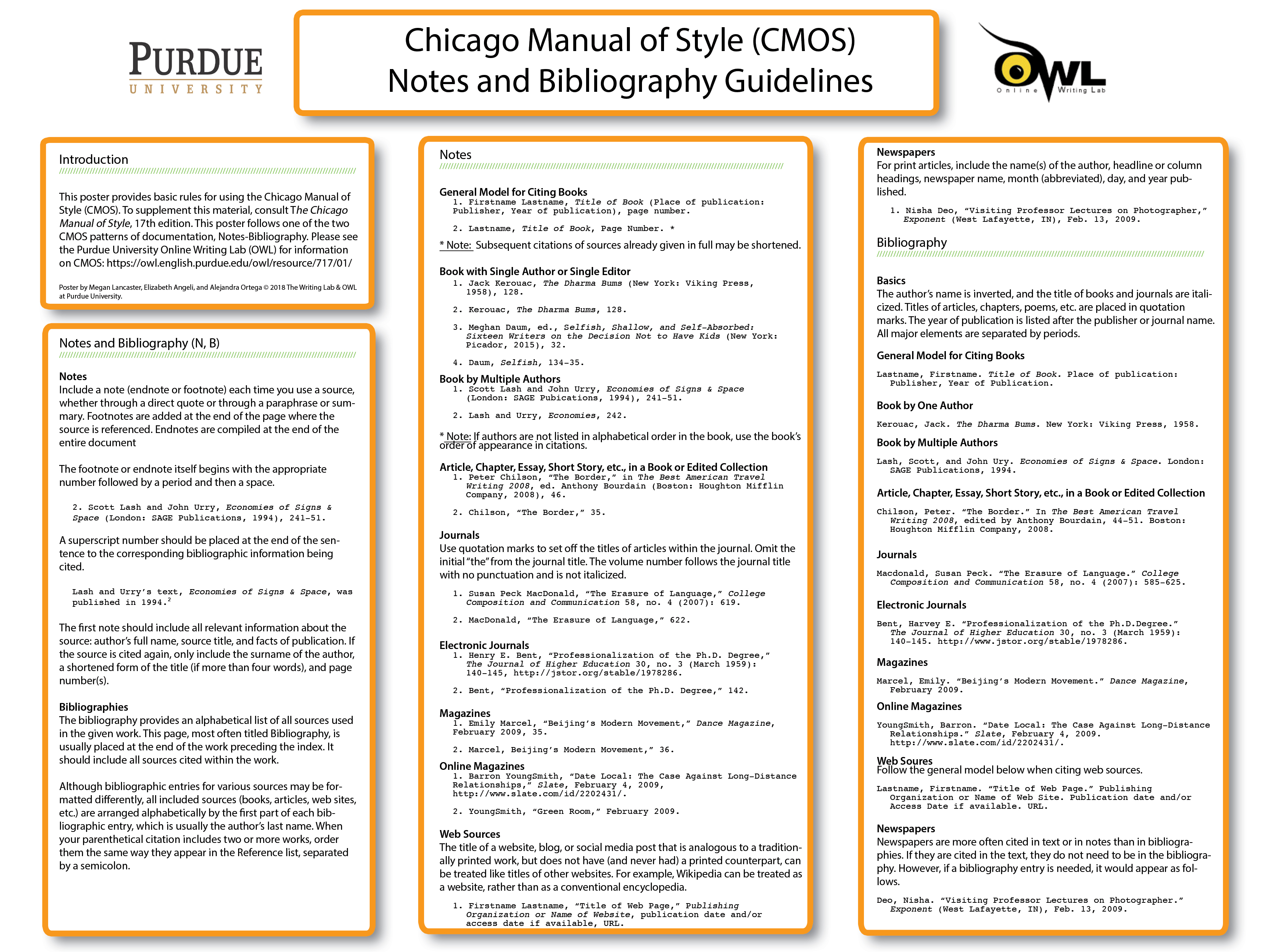 example of style guide in a document