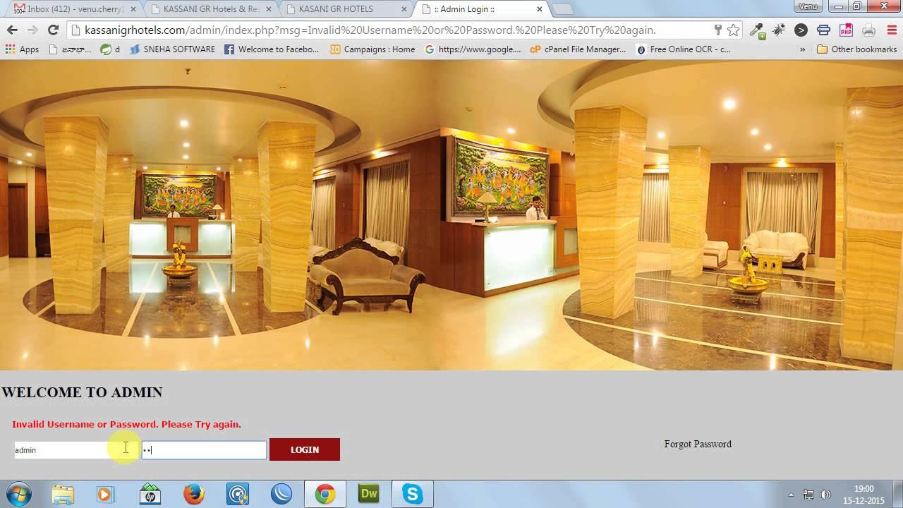 hotel room reservation system documentation