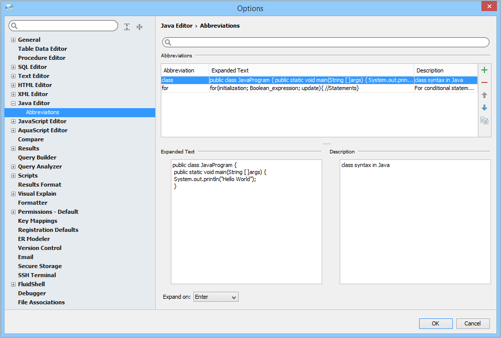 java project documentation example