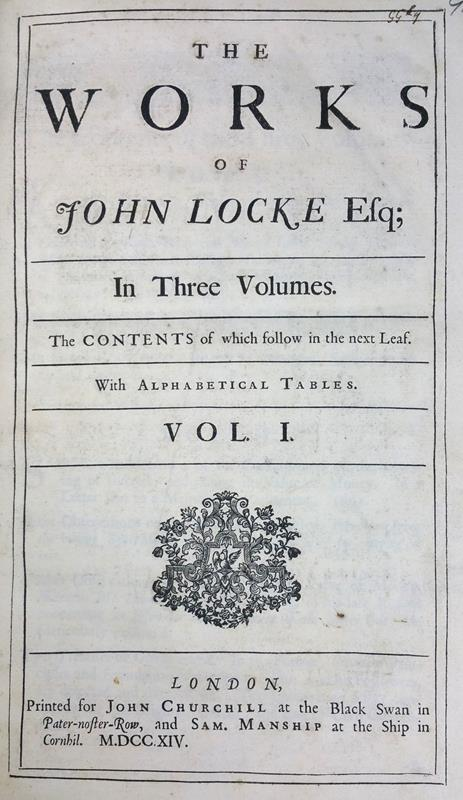 john locke wrote what document