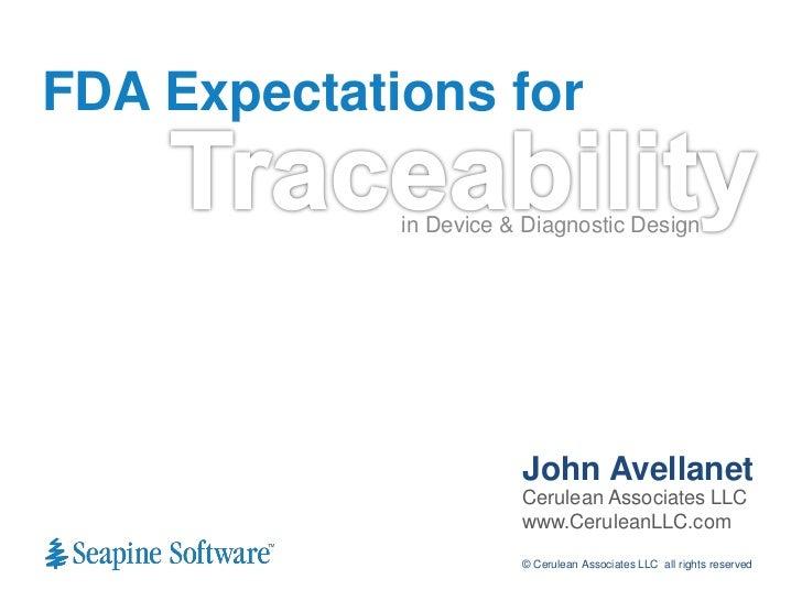 fda good documentation practices medical devices