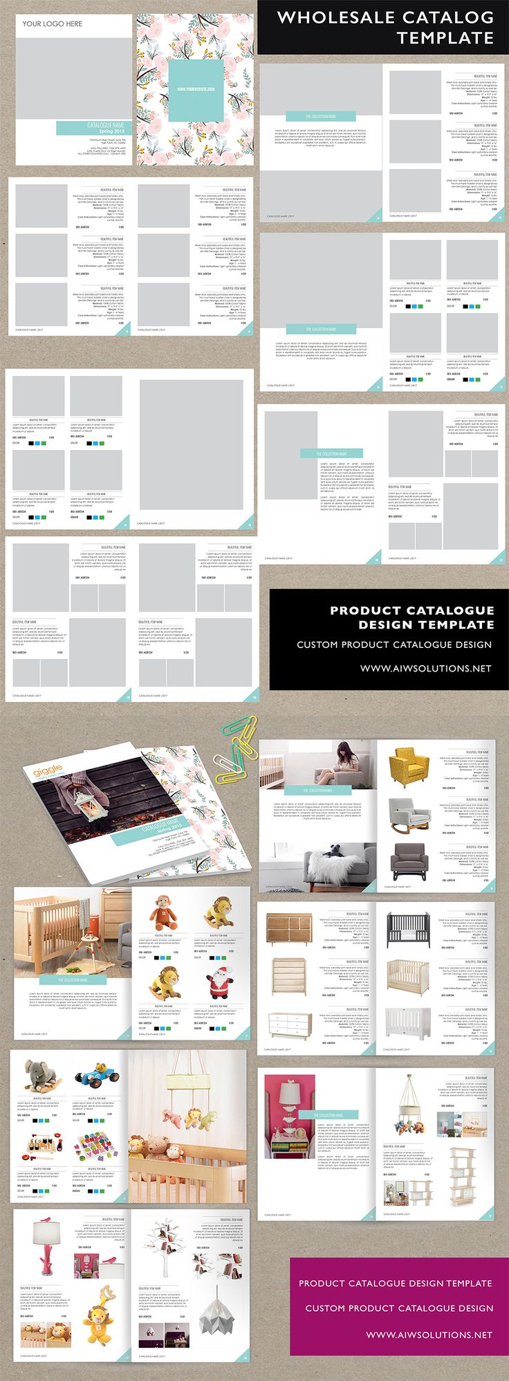 indesign template use for new document