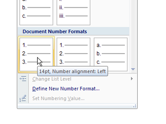 how to change format to read word document