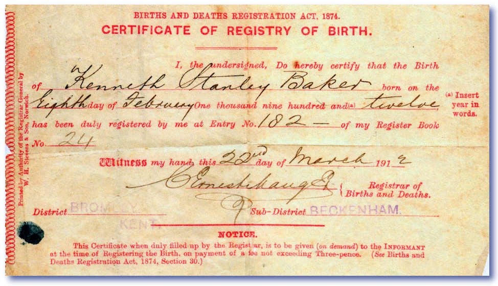 birth certificate national id document id number