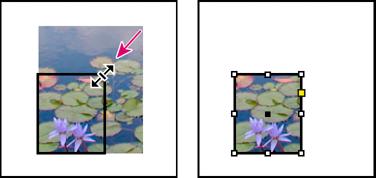 how to crop indesign document