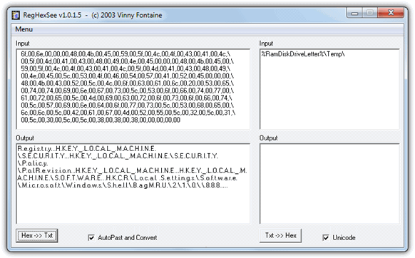 how can a translate a hex document