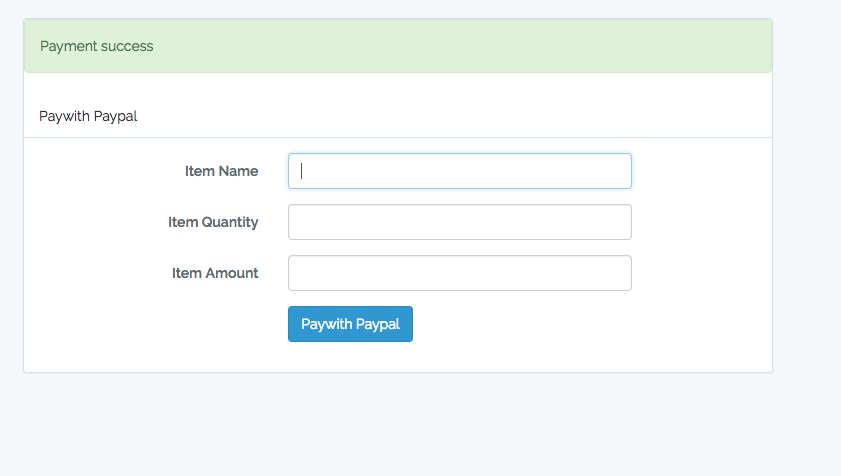 paypal integration in php documentation