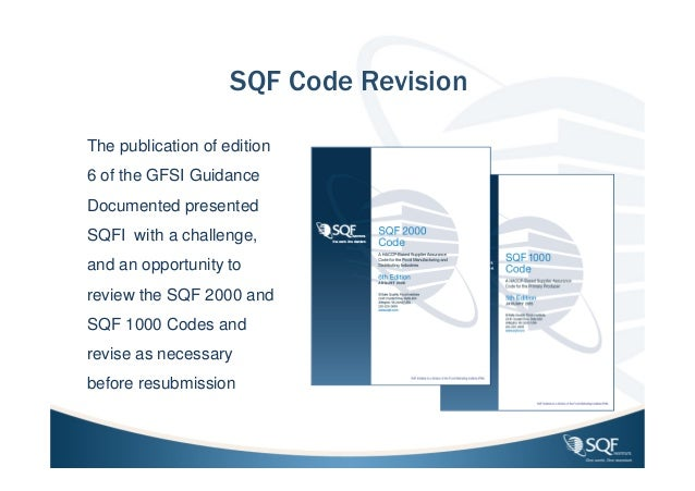 sqf edition 8 guidance document