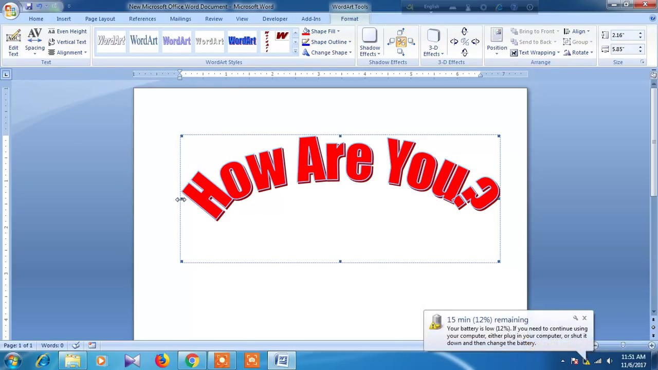 how can find a word in my word document