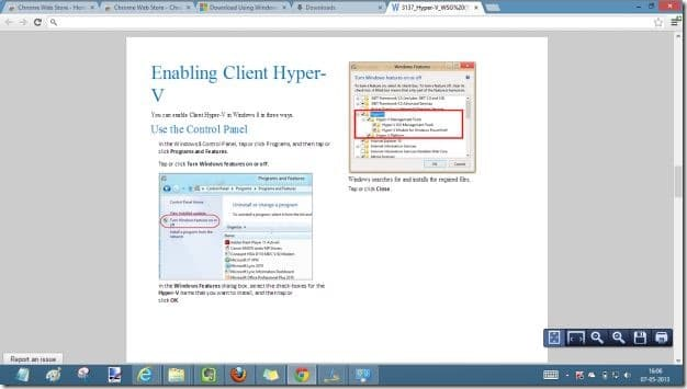 open word document in chrome