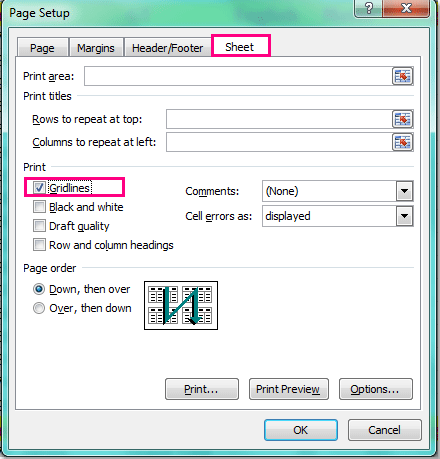one word document not printing