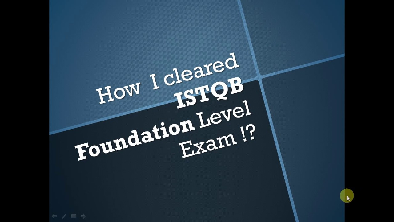 istqb foundation level documentation