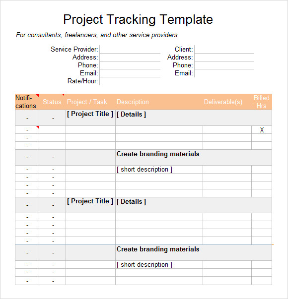 project document computer systems template