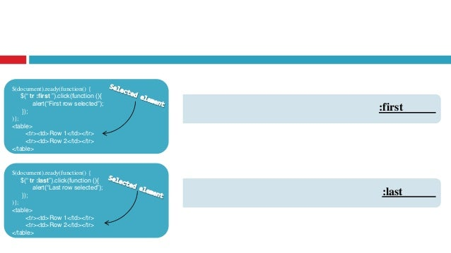 document ready in jquery example