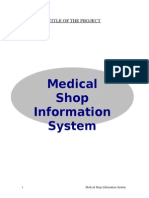 online shop management system documentation
