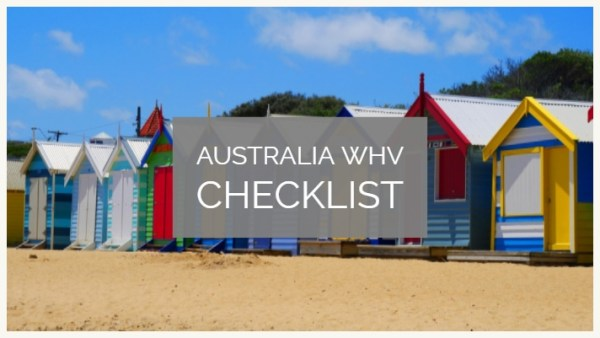 australian visitor visa subclass 600 document checklist