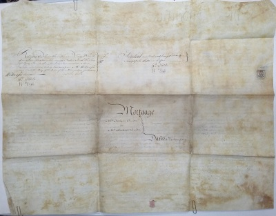 mortgage of land document victoria witness