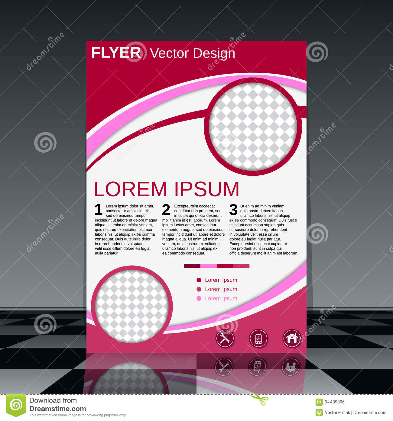 business document presentation front cover