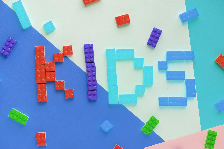 kids blocks theme for word document