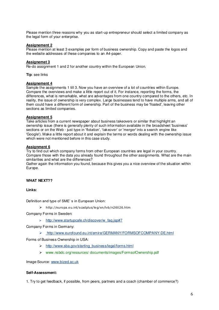 case study on document purpose