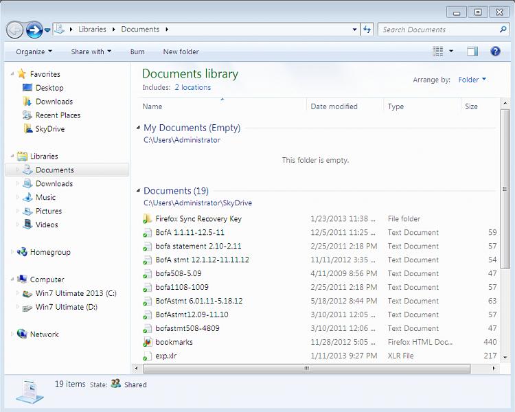 change windows 10 document library location