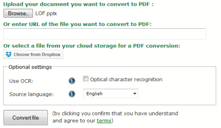 convert pdf document to powerpoint