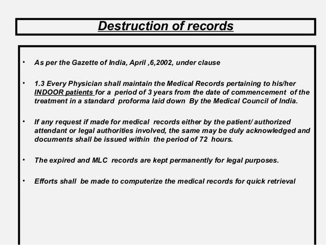 patient admission importance of documentation