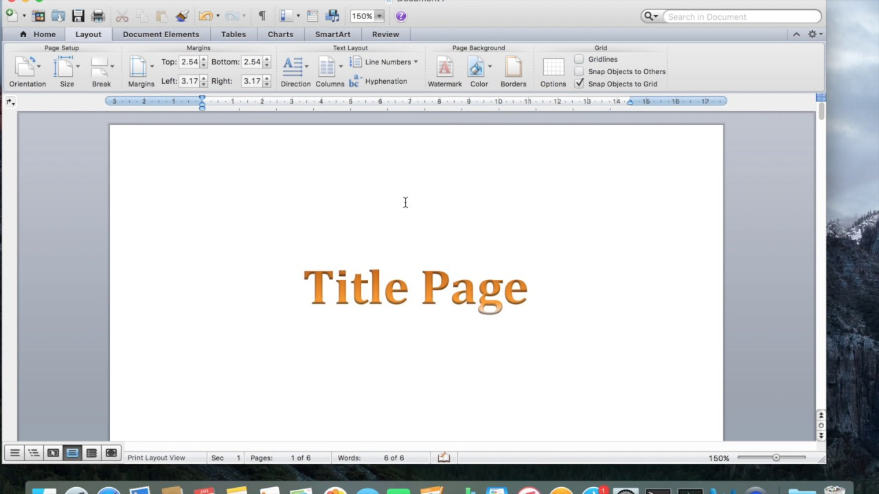 hhaving trouble with page numbers in word document