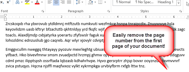 remove sections header and footer from word document