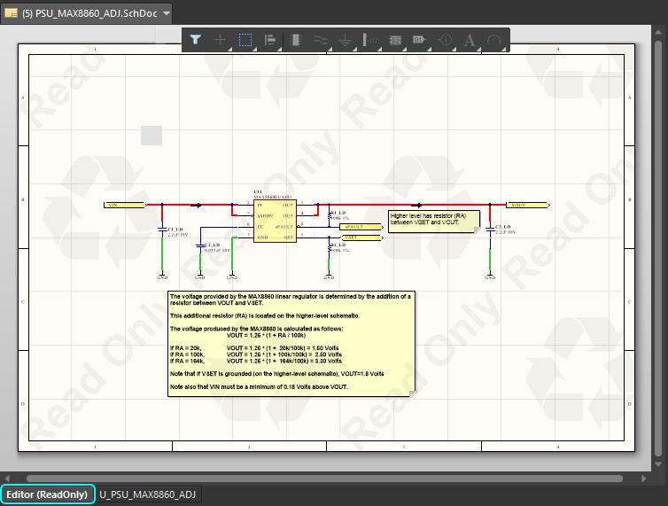 altium sheet symbol document parameters