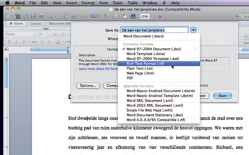 how to create an html document on a mac