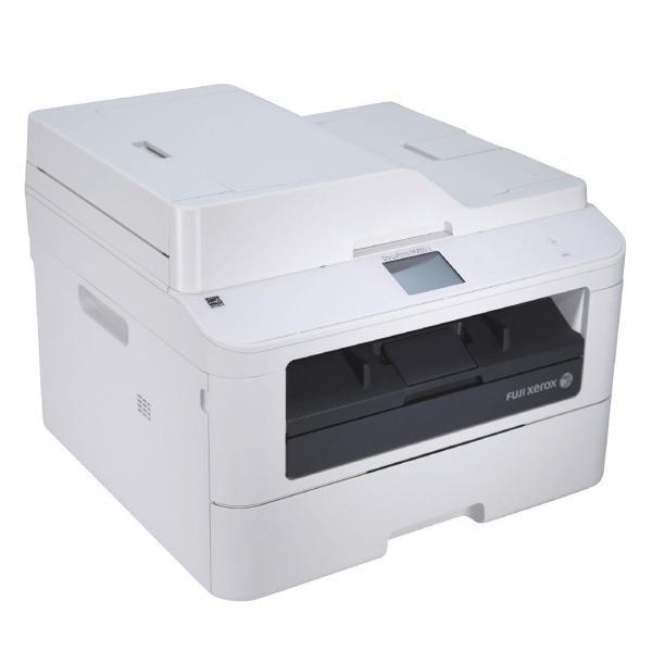 fuji docuprint p265dw scanned document