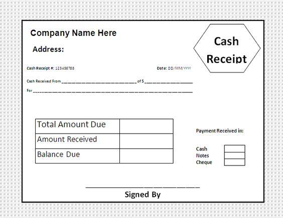 house rent receipt format document