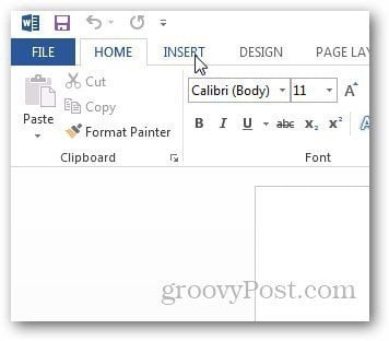 how do i insert a screenshot into a word document