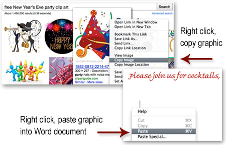 insert document with graphics into email