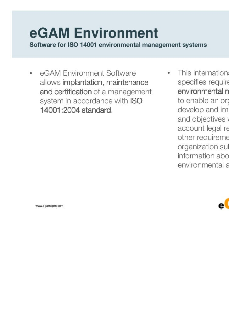 iso 14001 environmental management system documentation